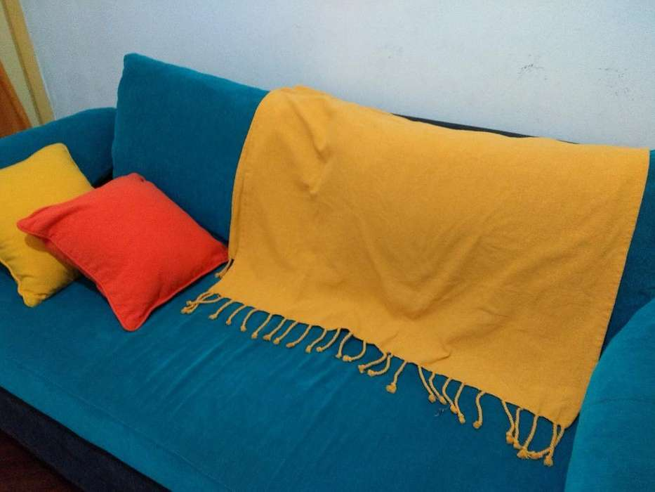 Manta Mas Almohadas para <strong>sofa</strong>