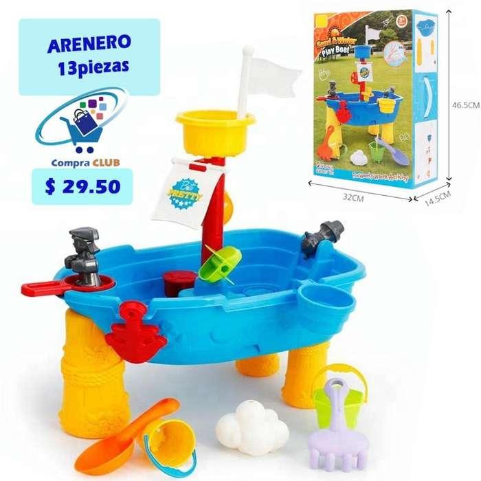 Arenero de Barco para Niños Y Bebes