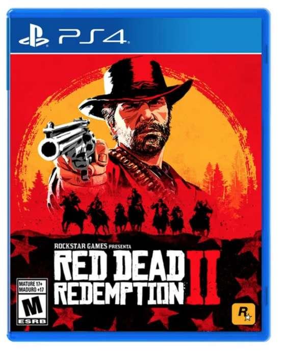 Red Dead Redemption 2 Ps4 Juego Fisico