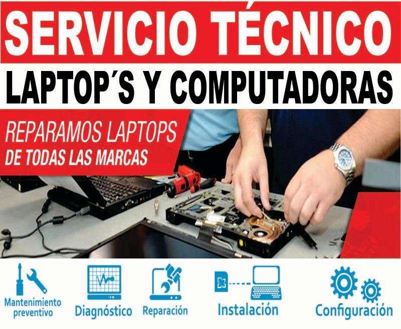 SERVICIO <strong>tecnico</strong> DE COMPUTADORAS, IMPRESORAS Y LAPTOP