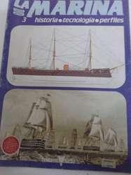 Revistas La Marina Editorial Delta fasciculo nro 3 perfecta