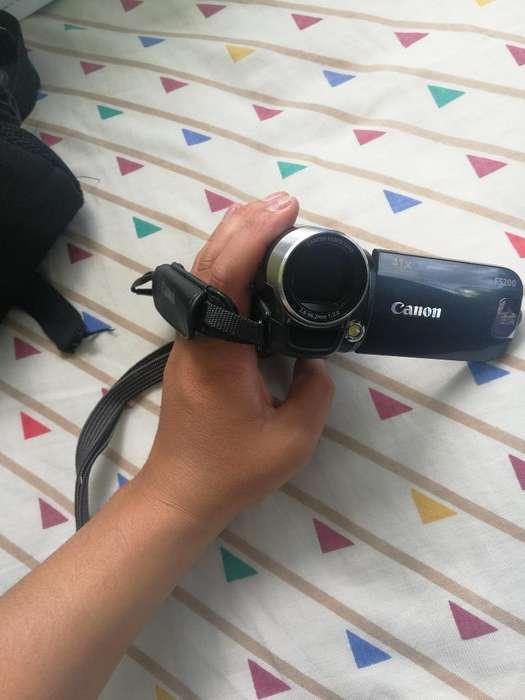 Filmadora Canon Fs200 Hc,