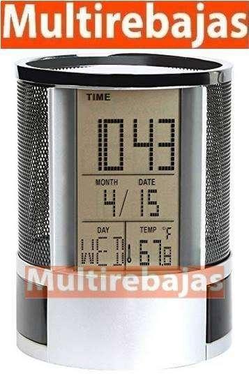 Reloj Porta Esféro más Cajones Ideal Para Su Oficina.