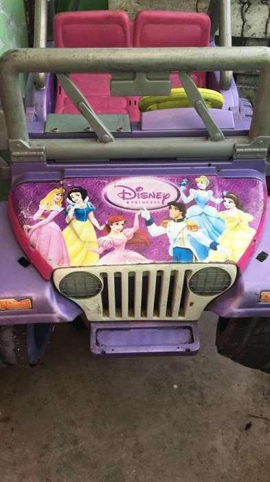 Jeep Power Wheels para Niña