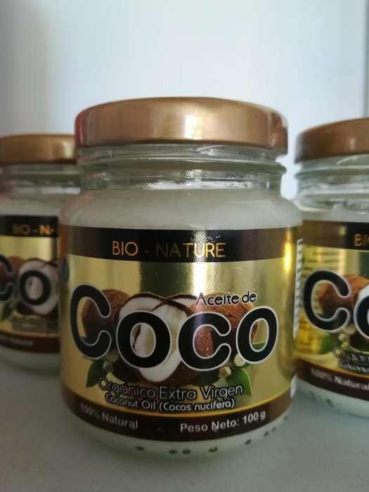 Aceite de Coco Extra Virgen 100 Ml