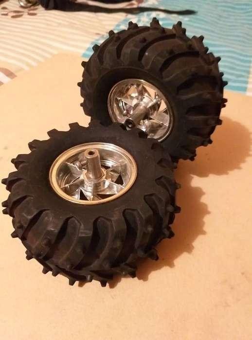 Llantas Pololu - Dagu Wild Thumper Wheel 120x60mm