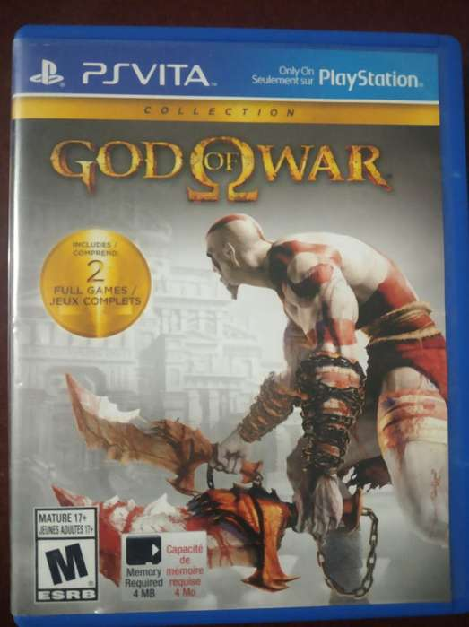 2 Juegos Ps Vita God Of War Y Uncharter