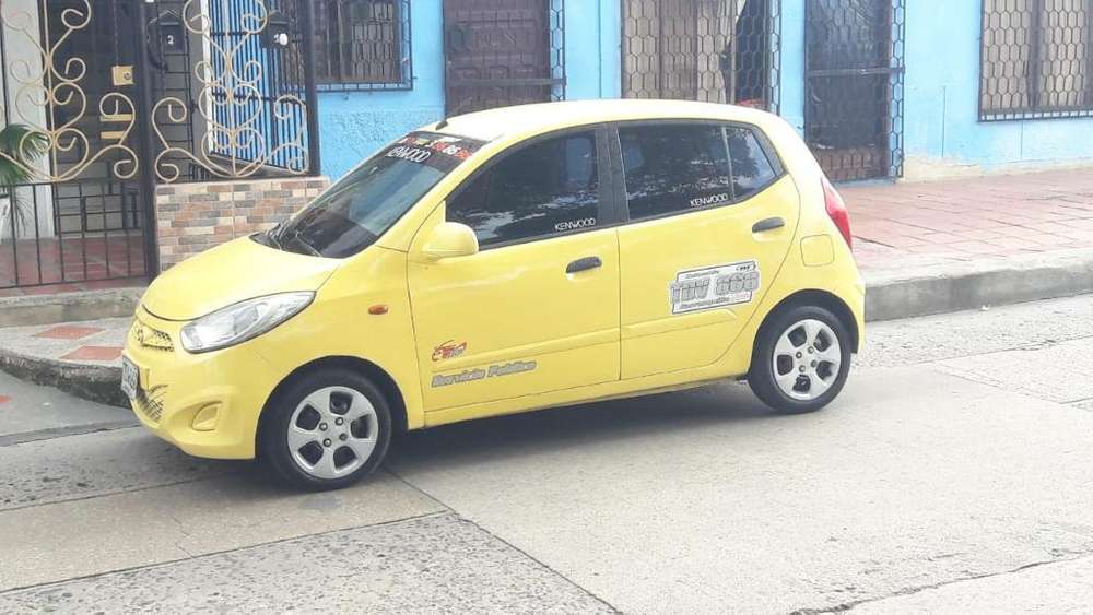 Hyundai I10 Taxi 2013 Oportunidad