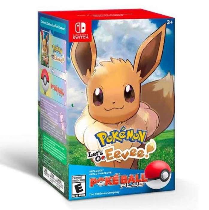 Pokémon Lets Go Eevee Pokebola
