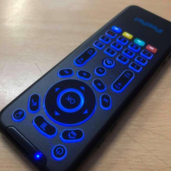 Mini Teclado Air Mouse Remote, Tv Display Tv Box C/ Bateria