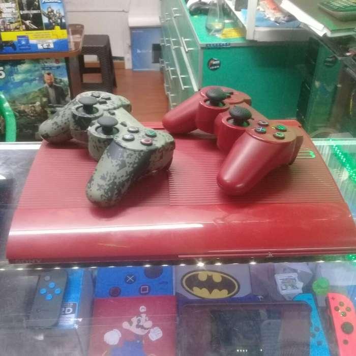 Play 3 500gb 30 Juegos