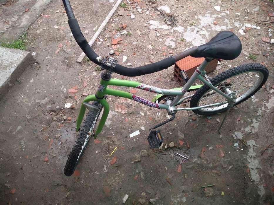 Bicicleta Contrapedal Rodado 20