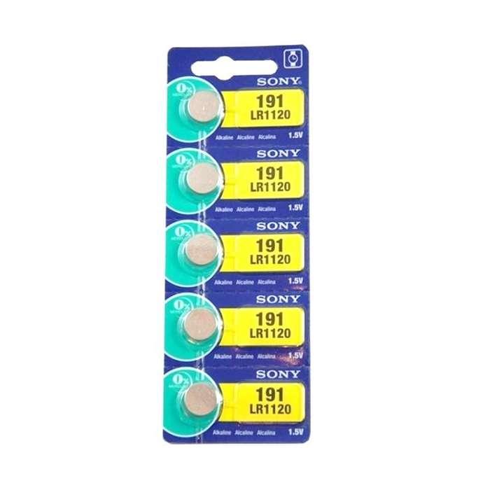 Pila Sony 191 Lr1120 1.5v Alcalina Pack X 5