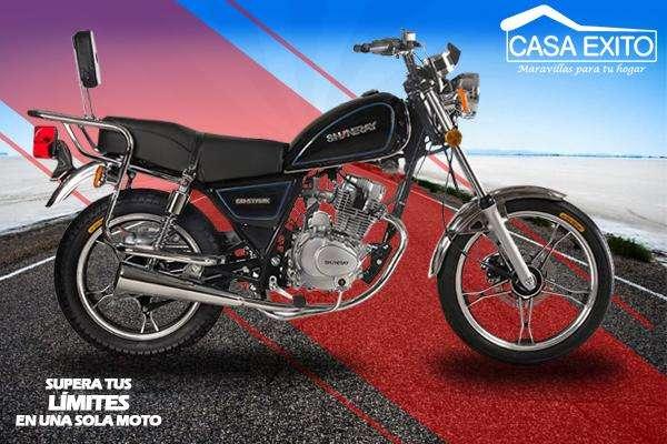 Moto Shineray Stark 150cc Año 2019 Color Negro/rojo Casa Éxito