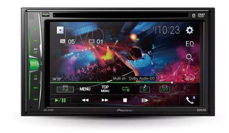 Radio Auto Pioneer pantalla AVH-A215bt