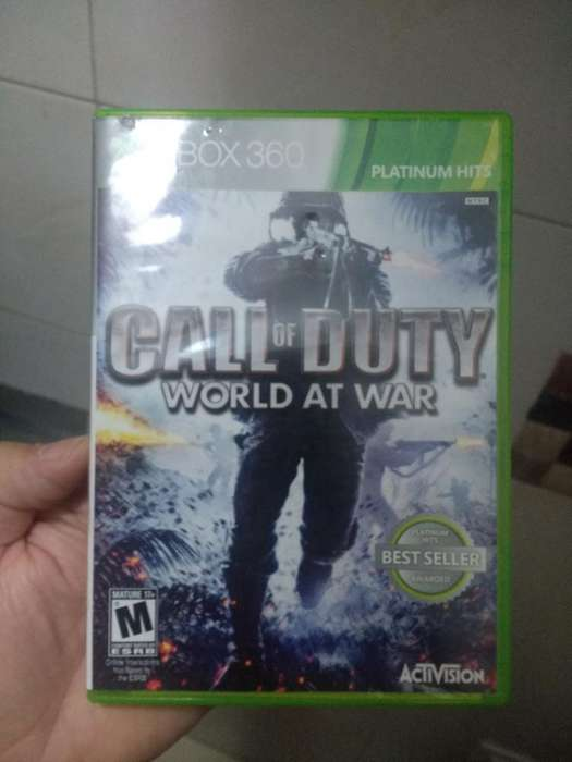 Call Of Duty World Of War Xbox 360