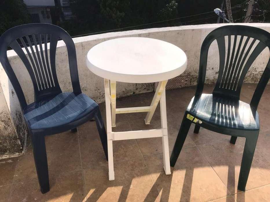 Vendo mesa Rimax y dos <strong>silla</strong>s 3012643504 Cartagena