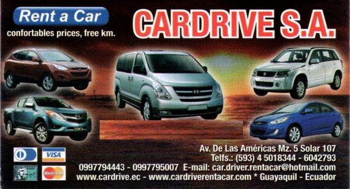 Alquiler de vehículos Guayaquil