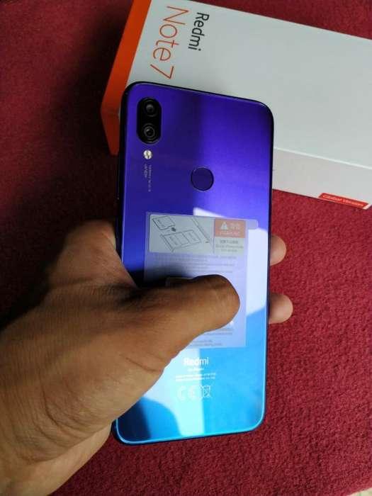 Xiaomi Redmi Note 7, Poco Tiempo de Uso.