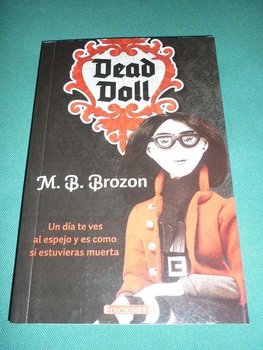 DEAD DOLL MONICA BROZON LIBRO NOVELA PARA ADOLESCENTES