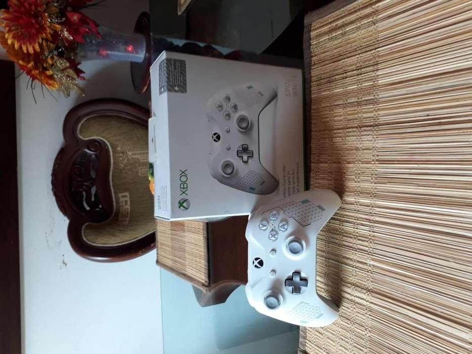 control xbox one sport white edición limitada 1 mes de uso