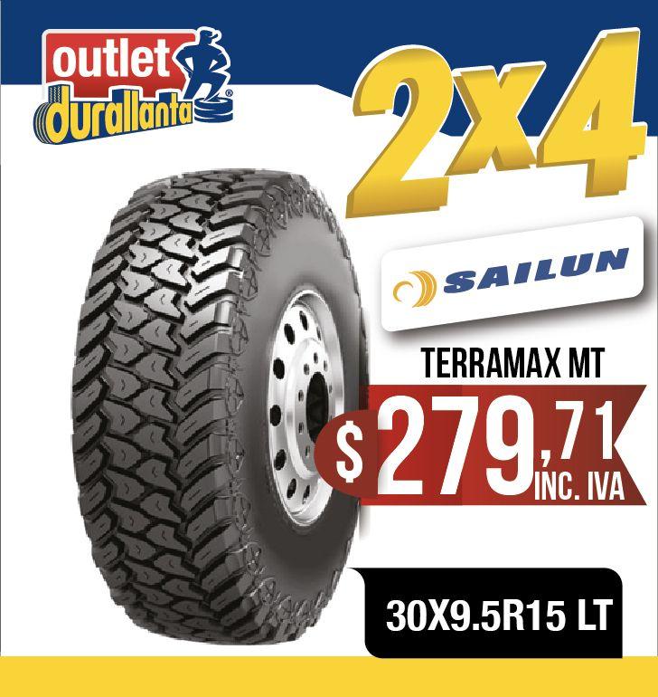LLANTAS 30X9.5R15 LT SAILUN TERRAMAX MT