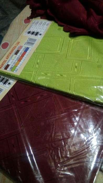 Mantel Redondo 1,80 Diametro. Antimancha