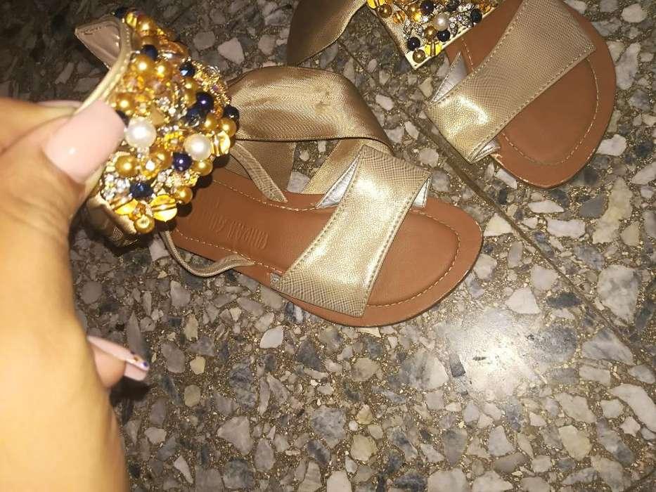 Sandalias para Niñas Talla 24