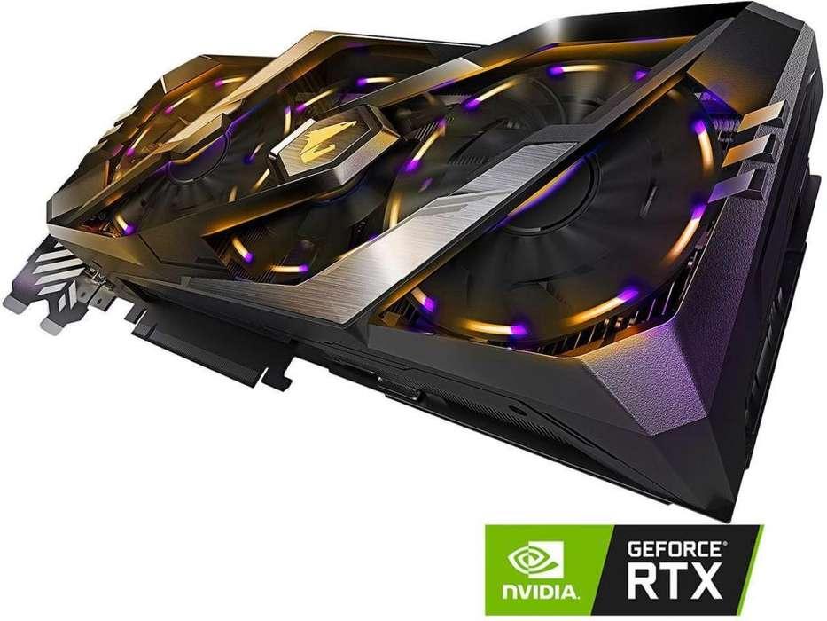 Tarjeta de Video Nvidia Geforce RTX 2080 GIGABYTE AORUS XTREME 8 gb GDDR6