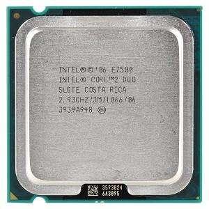 Intel Core 2 Duo E7500 2.93 Ghz socket Lga 775