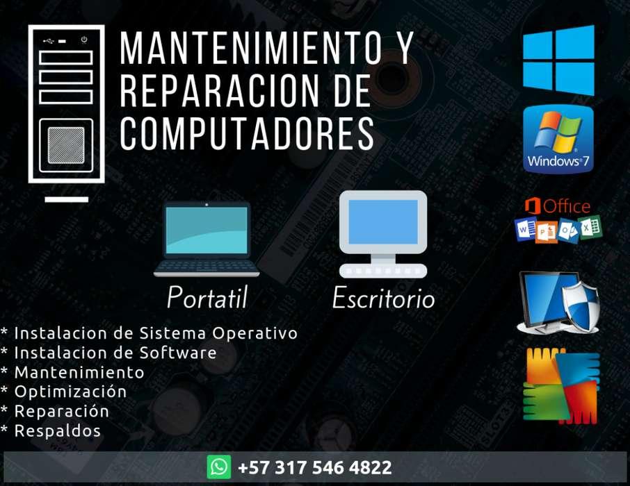 Mantenimiento y Reparacion de Computador