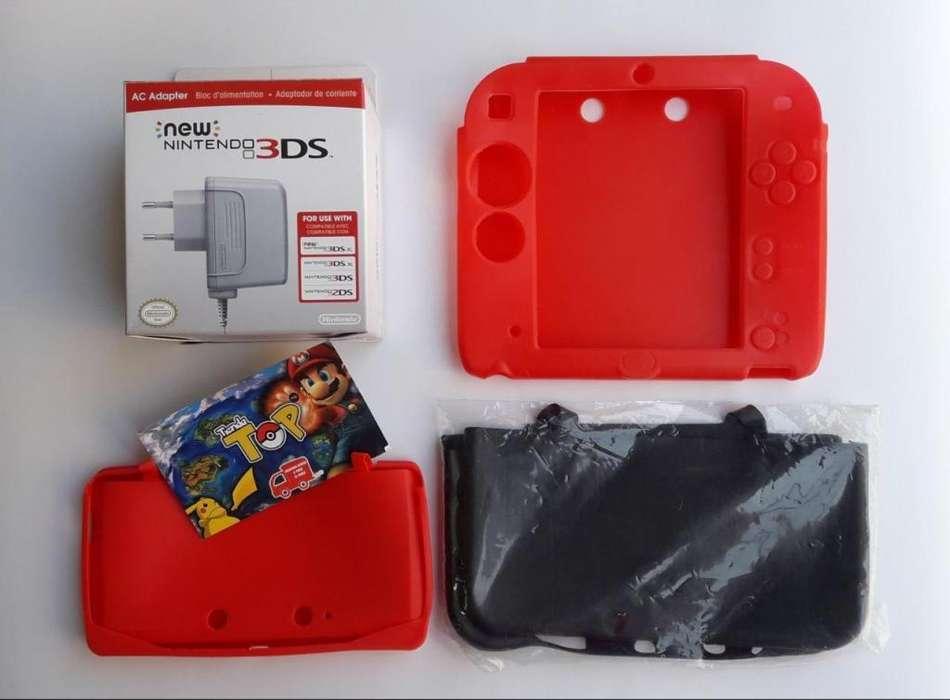 NINTENDO 3DS XL ACCESORIOS NUEVOS SELLADOS, TIENDATOPMK