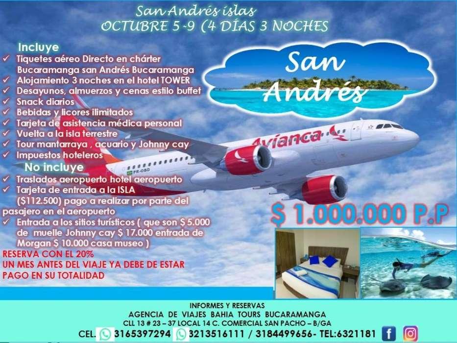 Tour San Andres Islas Octubre 05