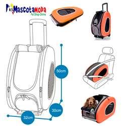 Bolso maleta para transportar perros gatos con ruedas