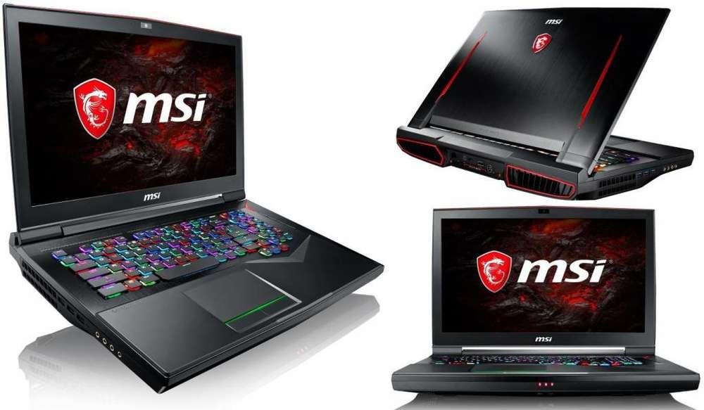 Laptop Msi Titan Gt75 Core I7 8va Generacion 32gb Ram!1500gb