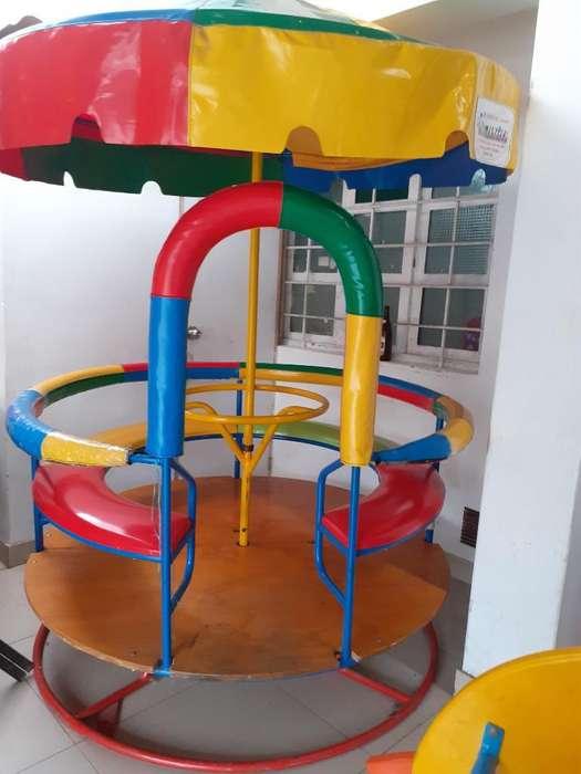 Carrusel Grande para 6 Niños