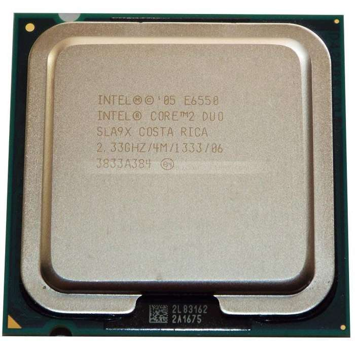 Procesador Intel Core2 Duo E6550 Caché De 4 M, 2,33 Ghz