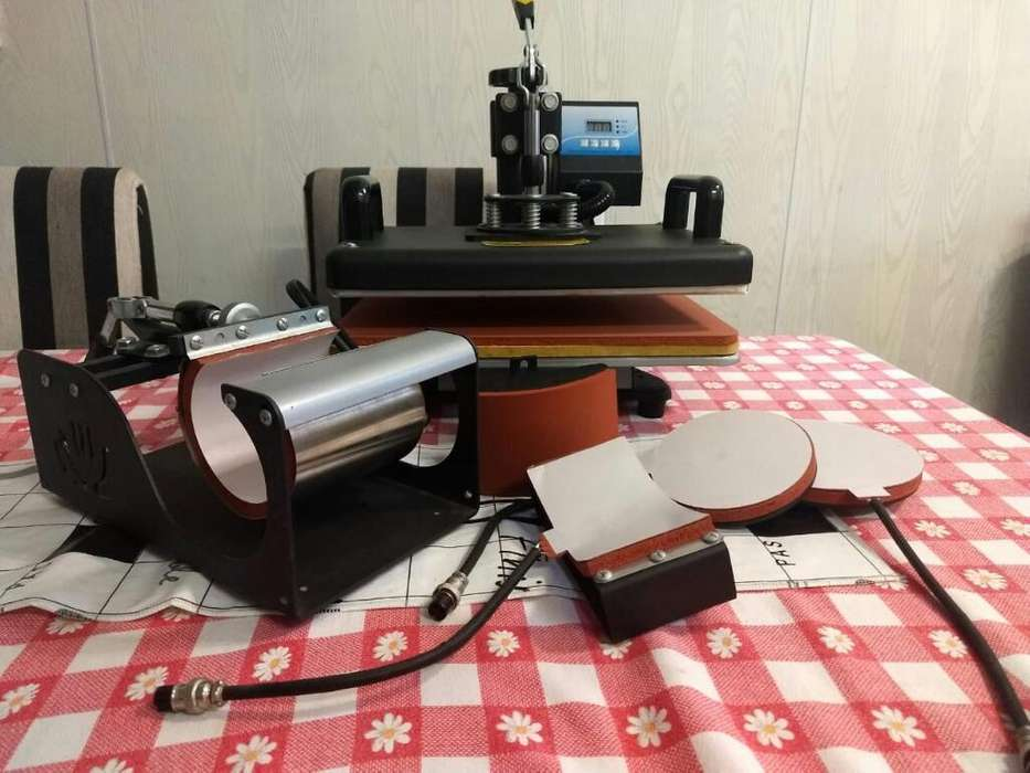 Sublimadora 6 en 1 Impresora