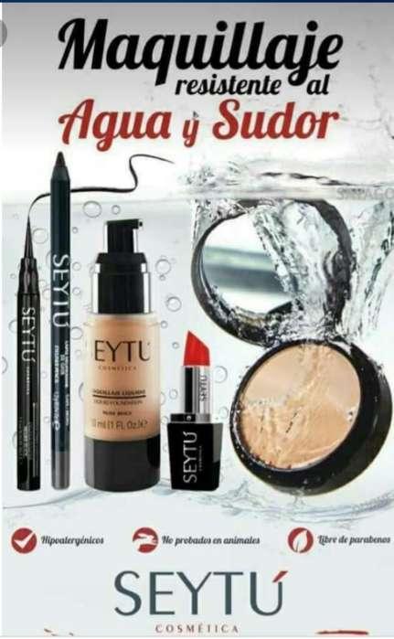 Novedoso Maquillaje Aprueba de Agua