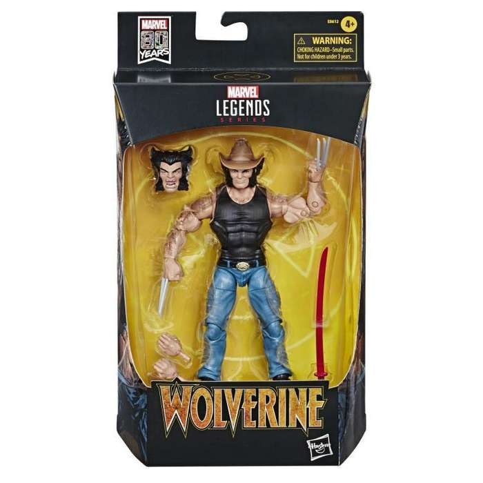 Figura Marvel Legends 80th Anniversary Cowboy Logan