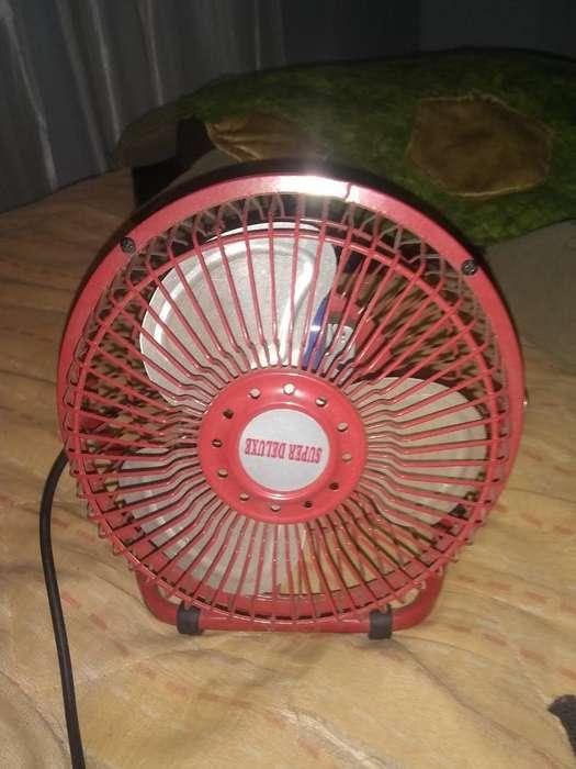 Ventilador Super Deluxe Rojo