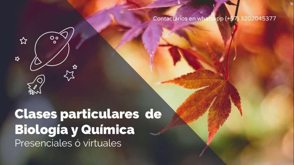 CLASES PARTICULARES DE BIOLOGIA Y QUIMICA - VIRTUALES O A DOMICILIO EN BOGOTA DC..