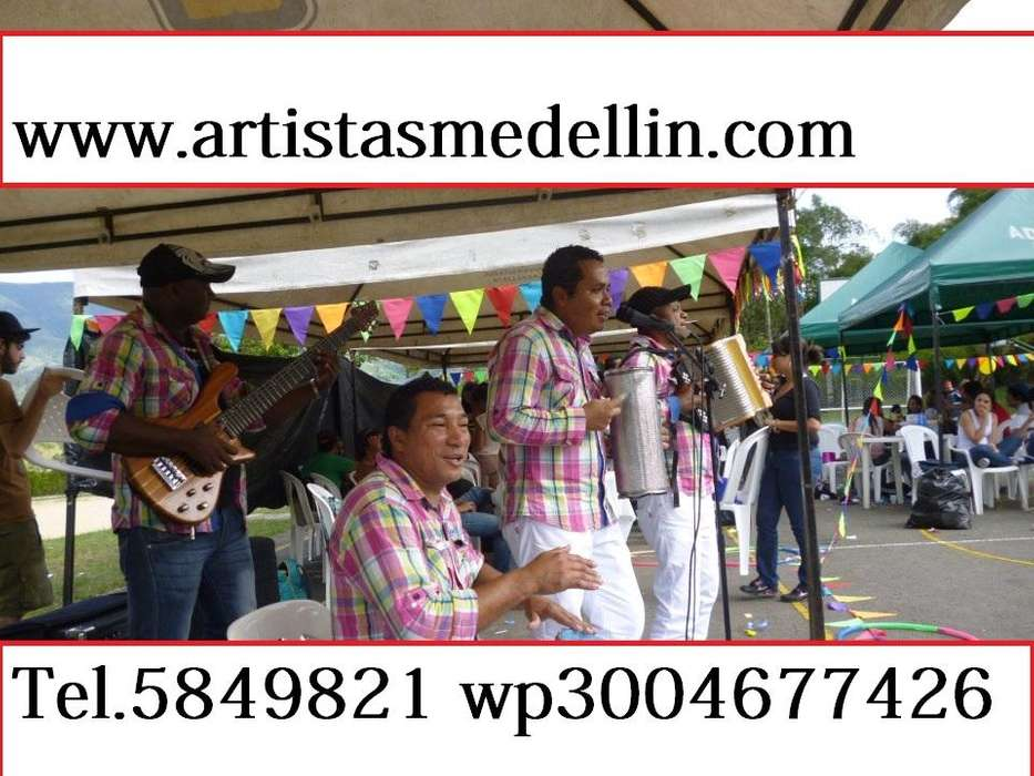 Grupo Vallenato en Medellin T5849821 Wp3004677426 Parranda