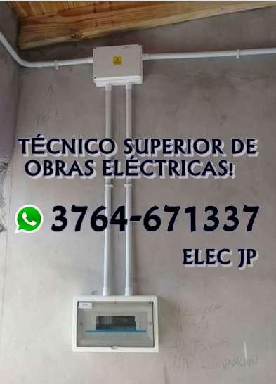 Electricista Técnico Superior de Obras Eléctricas!
