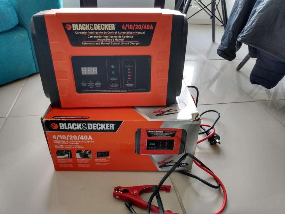 Vendo cargador de batera black and decker