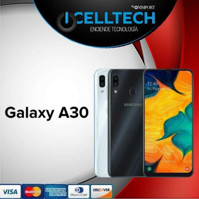 Samsung Galaxy A30 64gb memoria de 64GB y estuche GRATIS