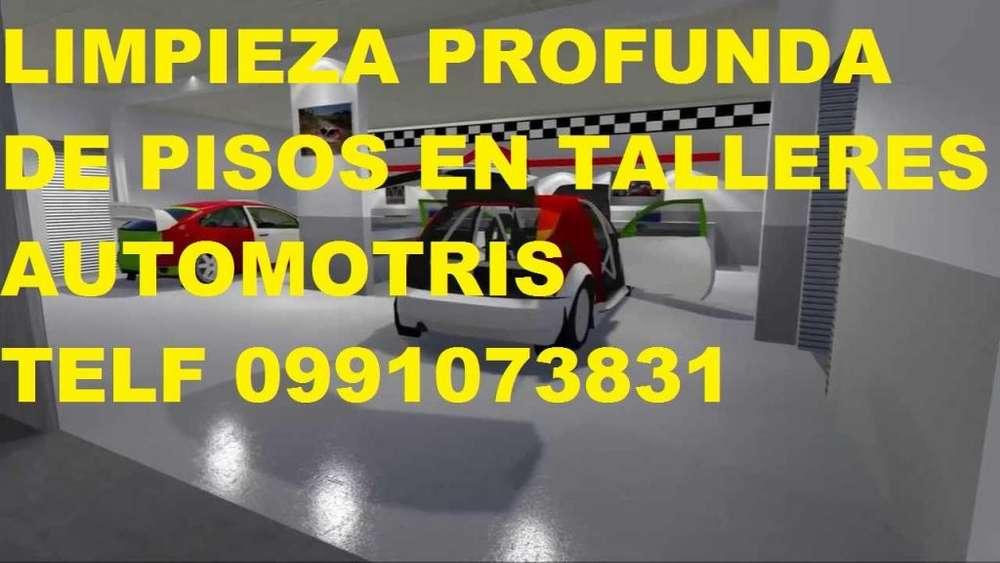 Telf 0992448828 LIMPIEZA DE PISOS DE HORMIGON Y PIEDRA