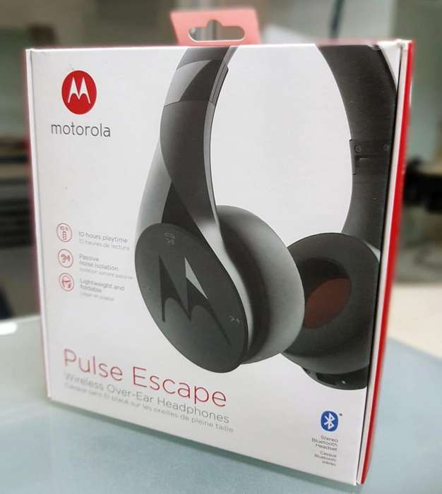 390 BS AQUI ORIGINALES ! AUDIFONOS BLUETOOTH MOTOROLA SELLADOS NEGRO 390 BS INF: 70865571