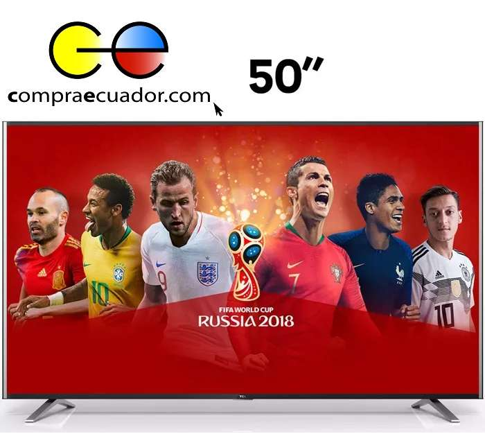 TCL <strong>televisor</strong> LED 50 Pulgadas Smart TV 4K Netflix YouTube 55