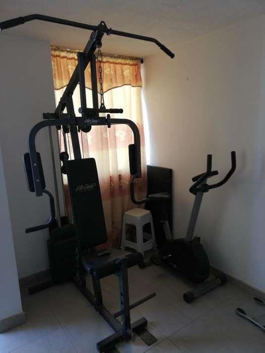 Gym Multifuncional, Elíptica, Abdominal